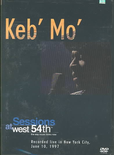 KEB MO SESSIONS AT WEST 54TH LIVE BY KEB MO (DVD)